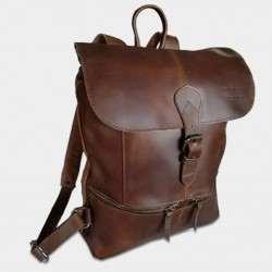 "Picture of Accueil Backpack \ ""Phoenix \\"" at L instant Cuir"