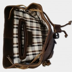 """Picture of Accueil Backpack \\ """"Phoenix \\"""" at L instant Cuir"""