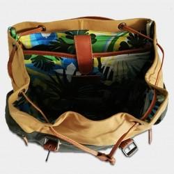 "Photo de Les sacs à dos Sac à dos \\""Cuba\\"" chez L instant Cuir"