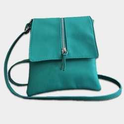 "Home picture shoulder bag ""Samira"" at L'instant Cuir"