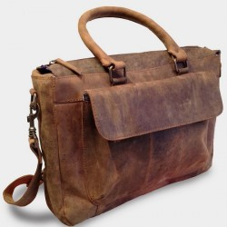 "Pictures of ""Washington"" Men's Saddlebags at L'instant Cuir"