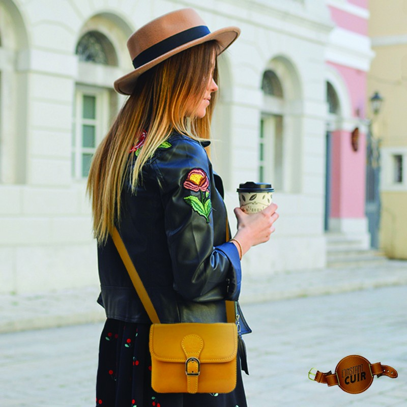 Photo of Our Italian ALMA Leather Bags at L'instant Cui